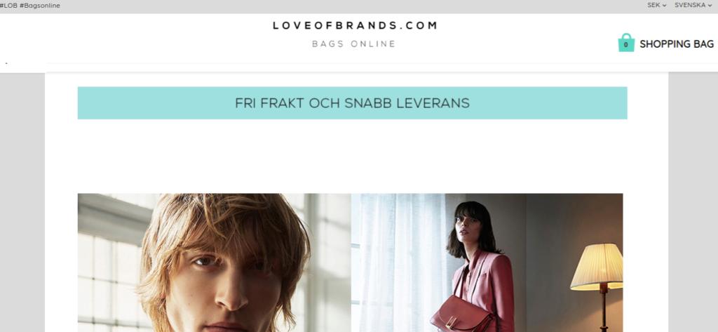 Love of Brands Rabattkod