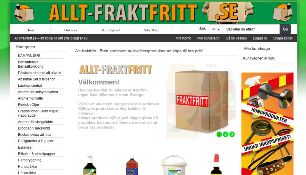 Allt-fraktfritt.se Rabattkod
