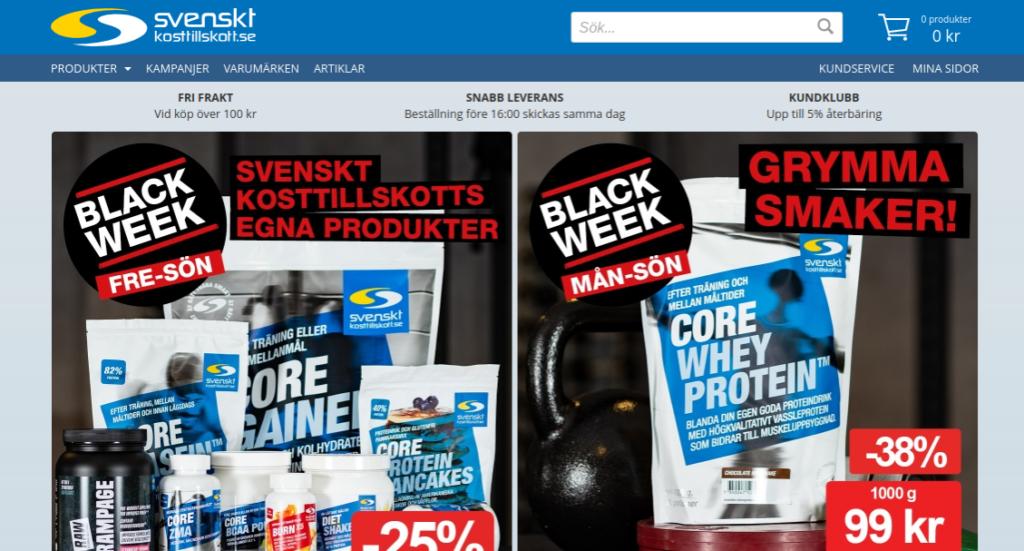 svenskt kosttillskott bra